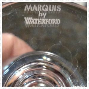 Marquis by Waterford Accents - Marquis by Waterford Crystal Etched Bud Vase